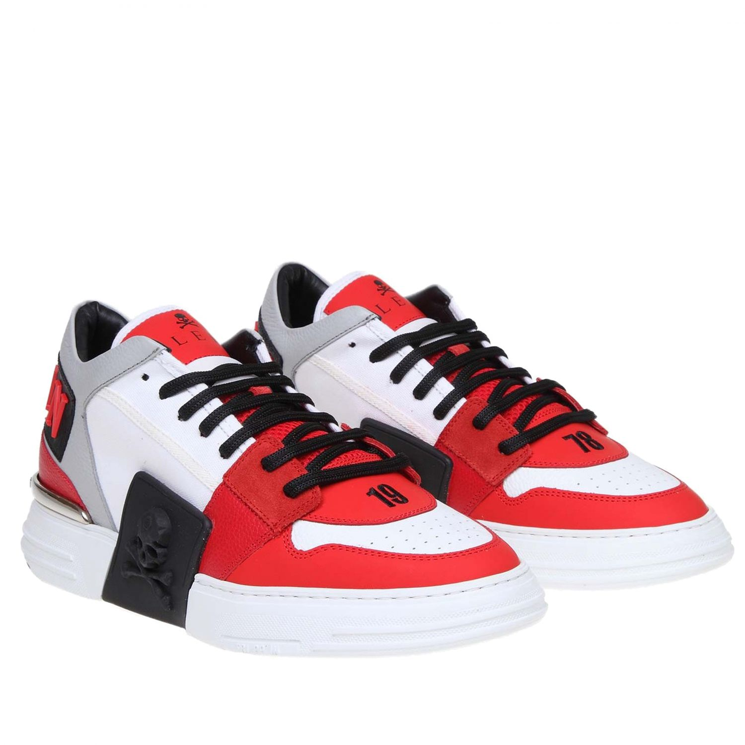 Sneakers men Philipp Plein red 2