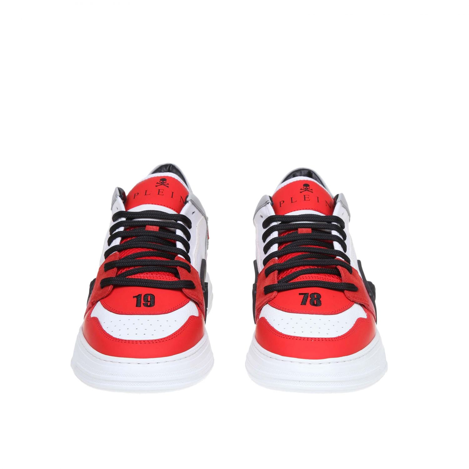 Sneakers men Philipp Plein red 3