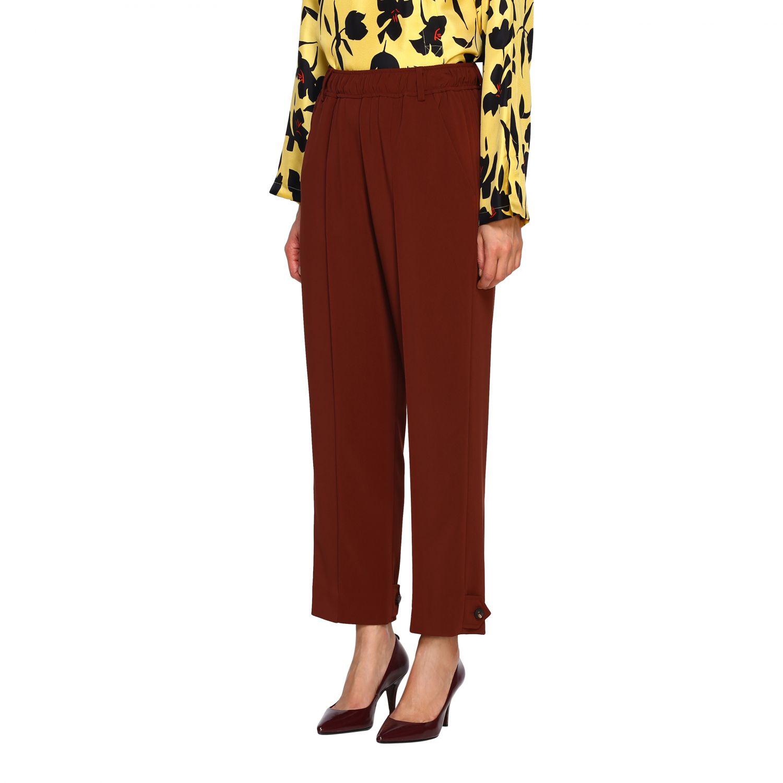 Pantalone Alysi: Pantalone donna Alysi ruggine 4