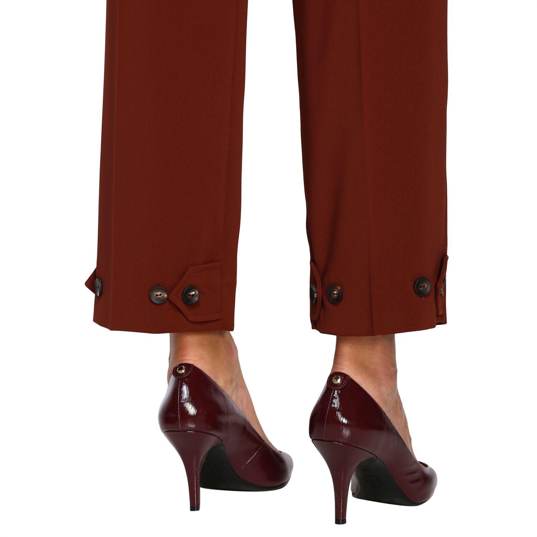 Pantalone Alysi: Pantalone donna Alysi ruggine 5