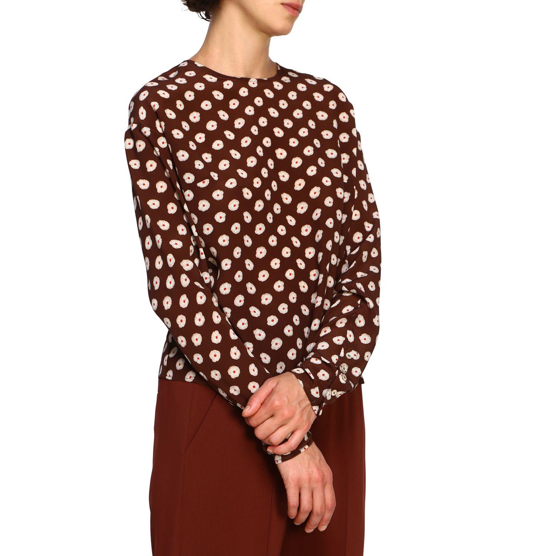 Camiseta mujer Alysi café 5
