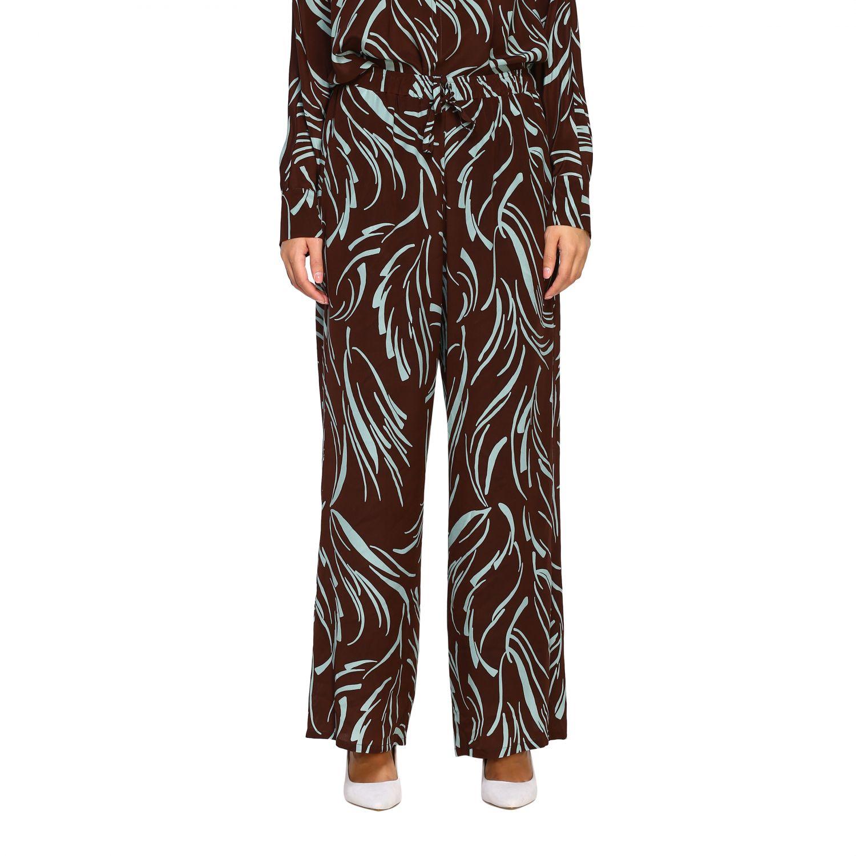 Pantalone Alysi: Pantalone donna Alysi ruggine 1