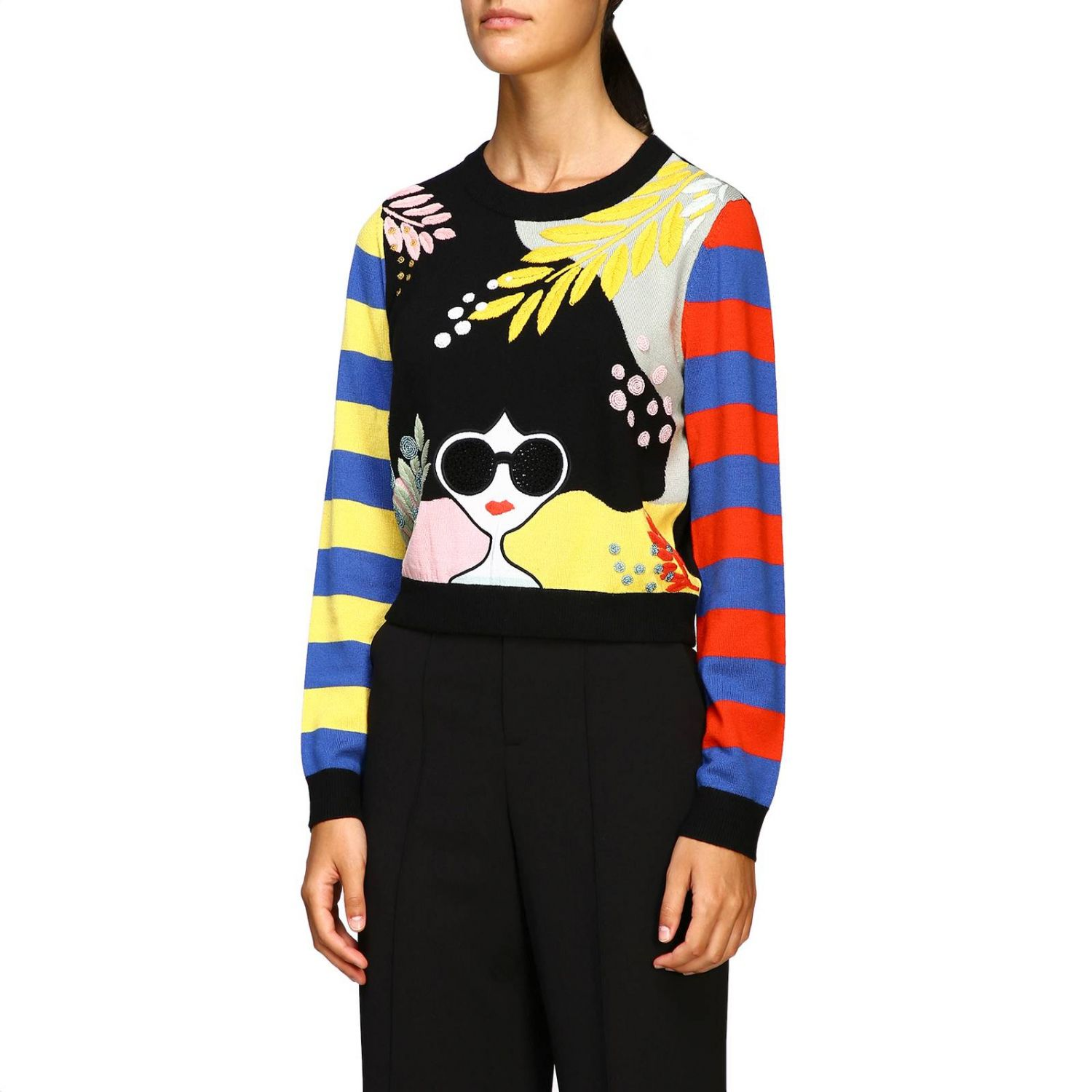 Jumper Alice+Olivia: Jumper women Alice+olivia multicolor 4