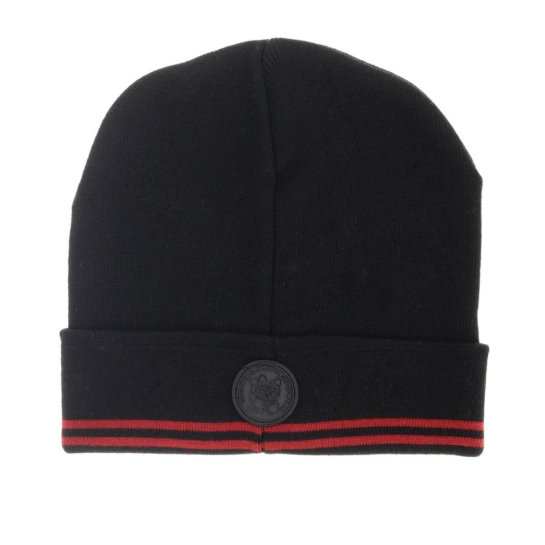 Cappello Gcds con bordi a righe nero 2
