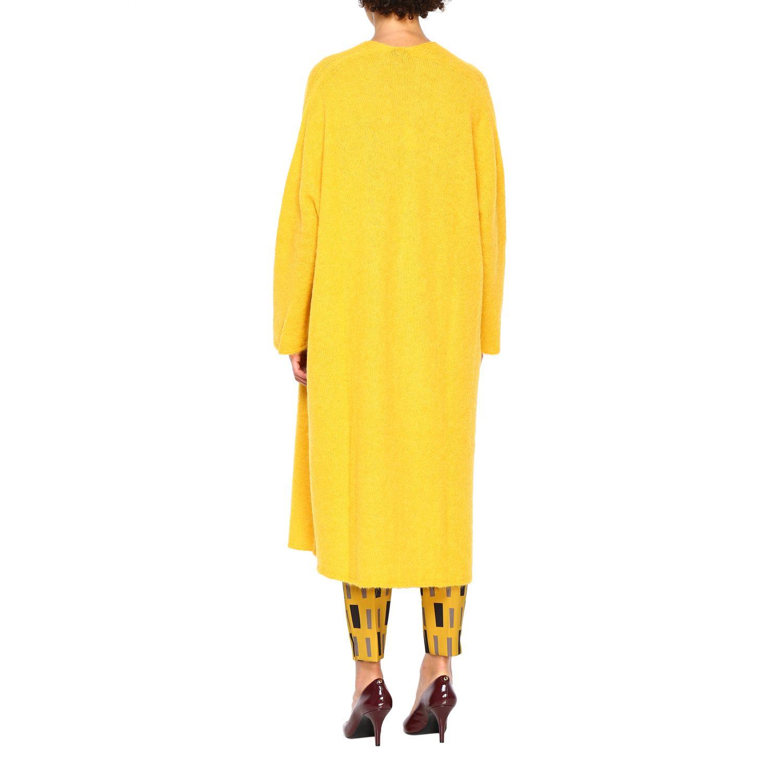 Cardigan Maliparmi: Cardigan donna Maliparmi giallo 3