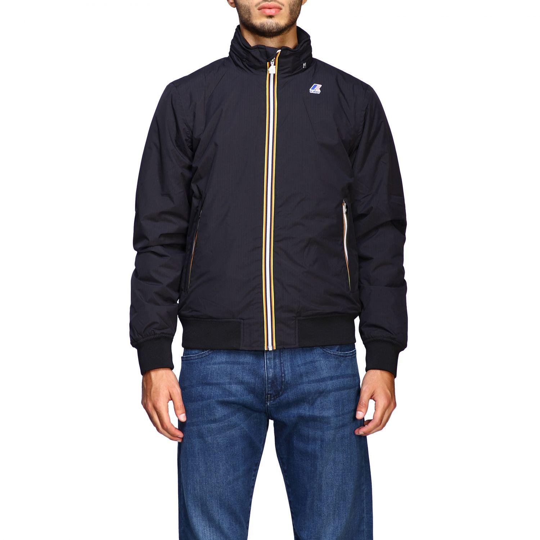 Jacket men K-way black 1
