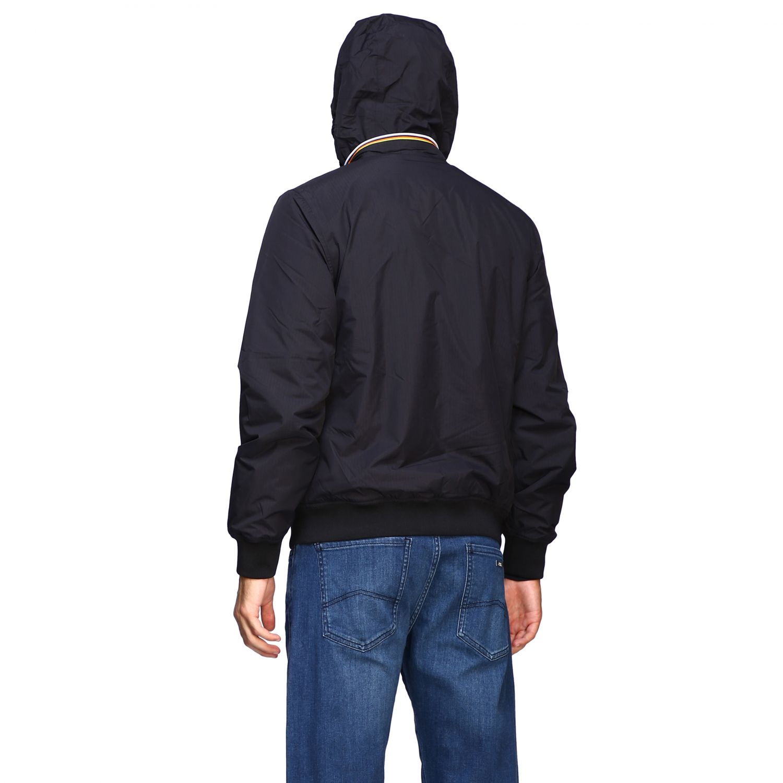 Jacket K-Way: Jacket men K-way black 3