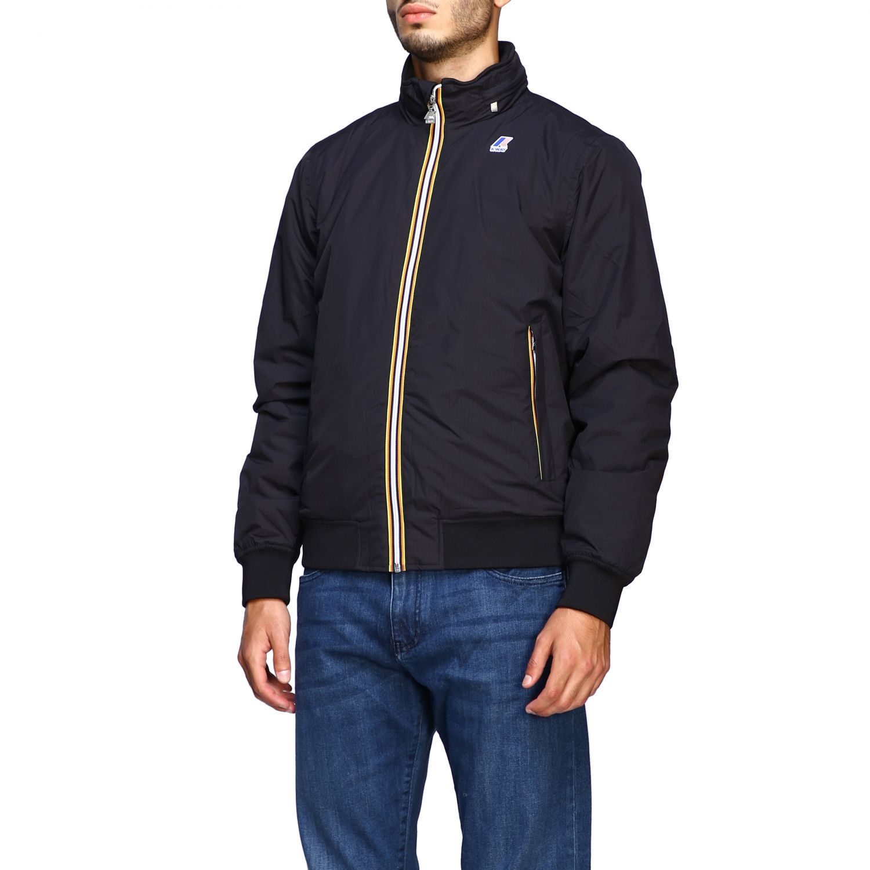 Jacket men K-way black 4
