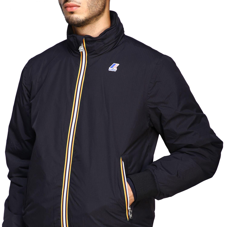 Jacket men K-way black 5