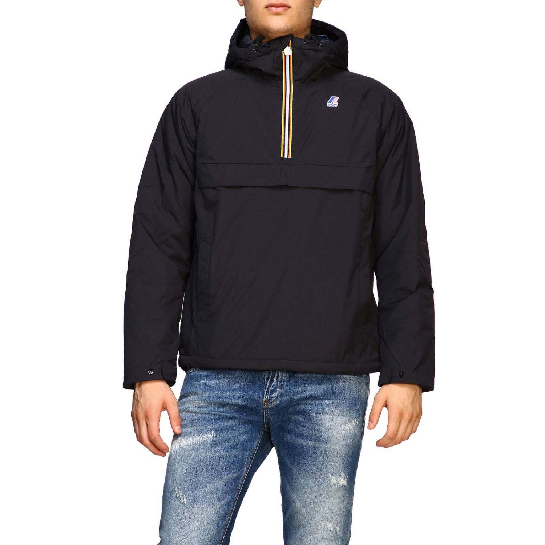 Jacket K-Way: Jacket men K-way black 1
