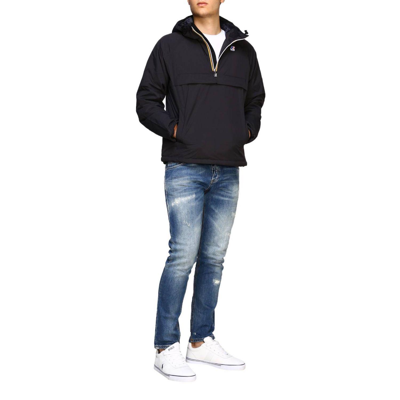 Jacket K-Way: Jacket men K-way black 2