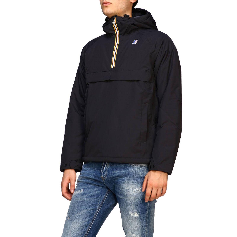Jacket K-Way: Jacket men K-way black 4
