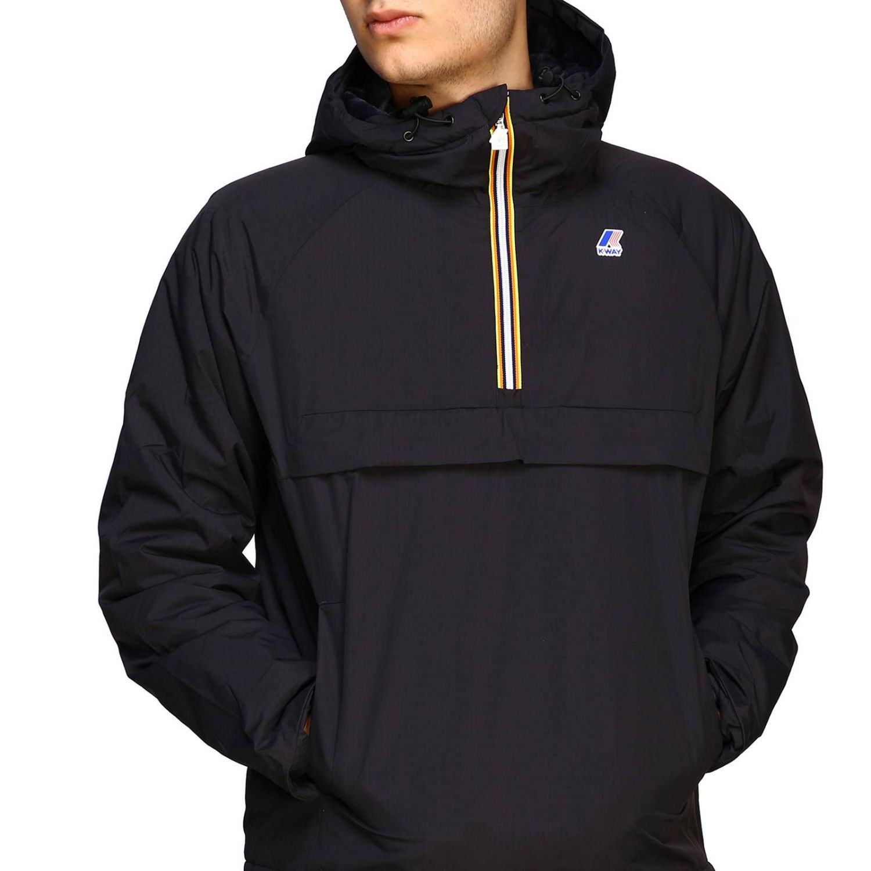 Jacket K-Way: Jacket men K-way black 5