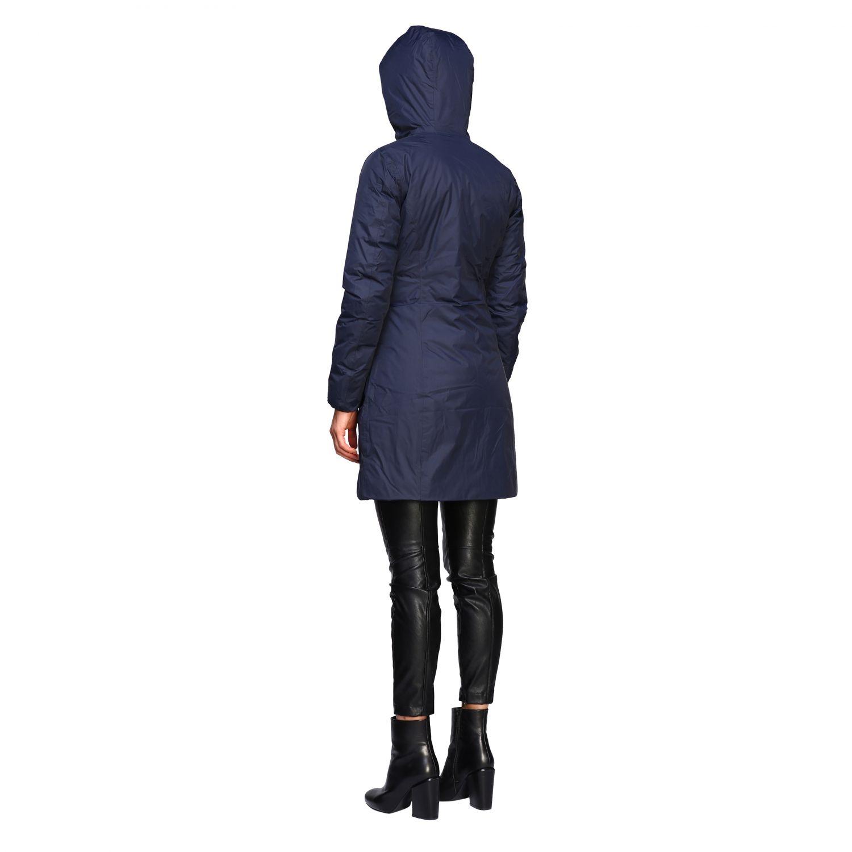Jacket women K-way blue 3