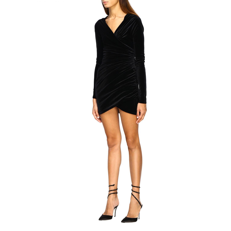 连衣裙 Alexandre Vauthier: 连衣裙 女士 Alexandre Vauthier 黑色 3