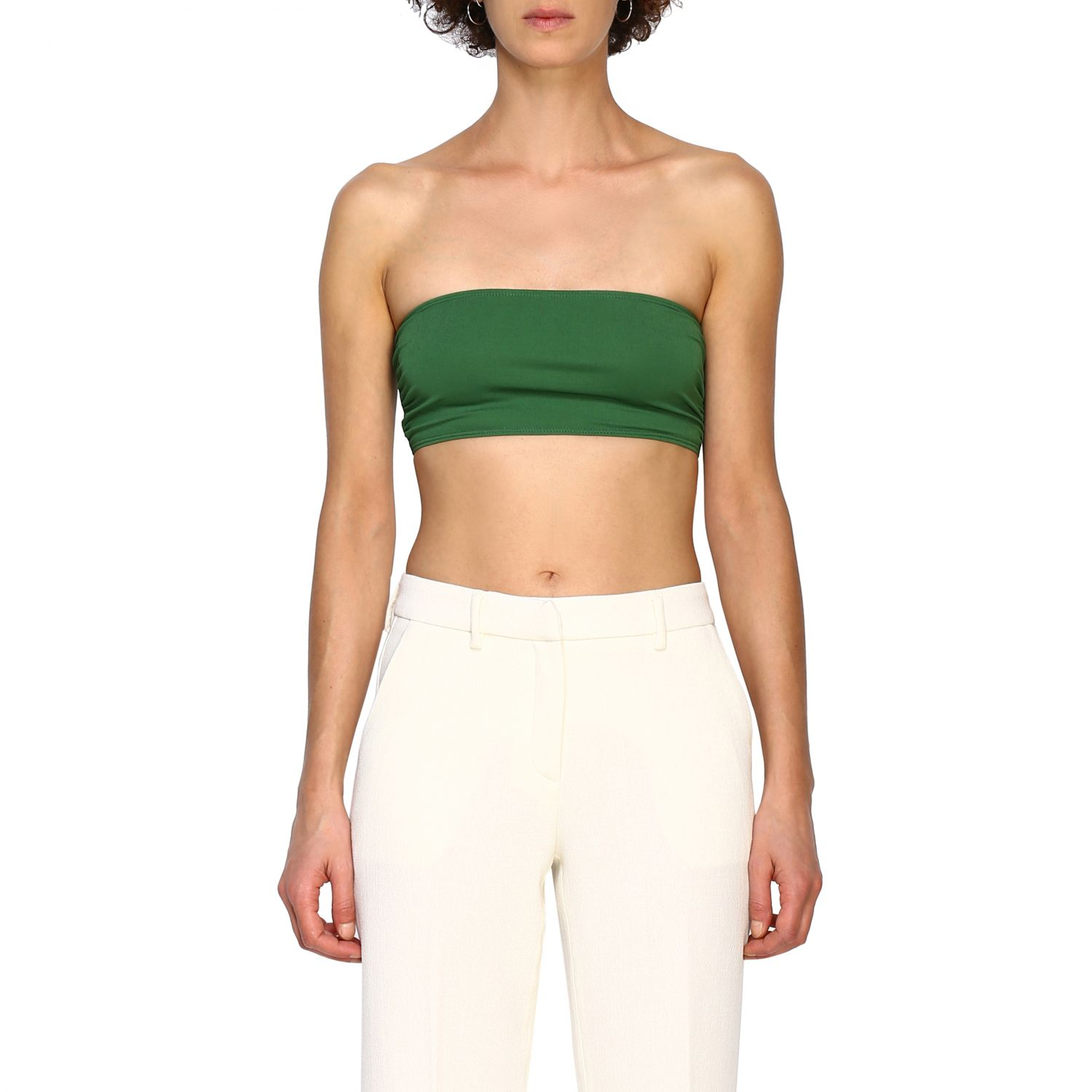 Top Alexandre Vauthier: Top women Alexandre Vauthier green 1