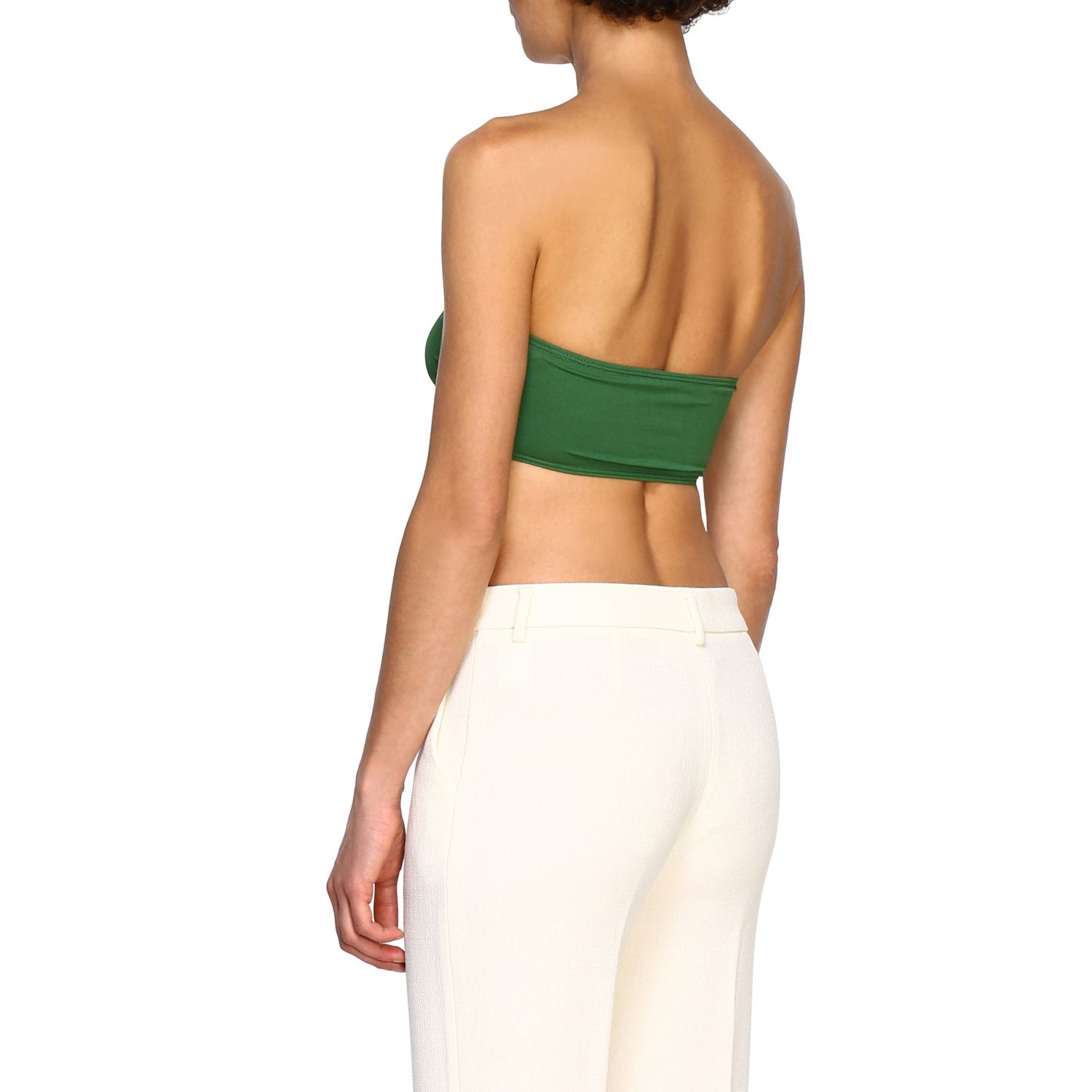 Top Alexandre Vauthier: Top women Alexandre Vauthier green 3