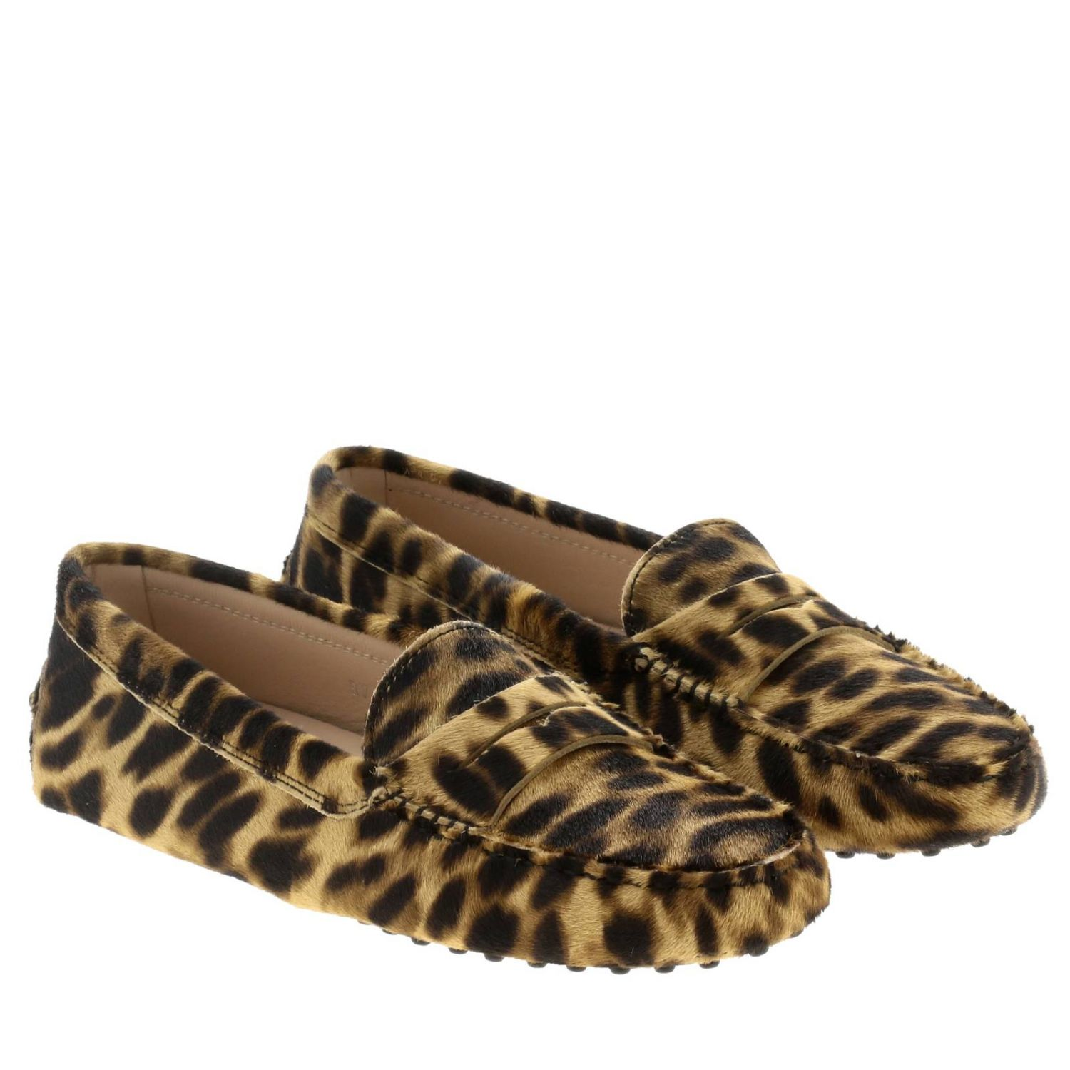 Tod's loafers in calfhair multicolor 2