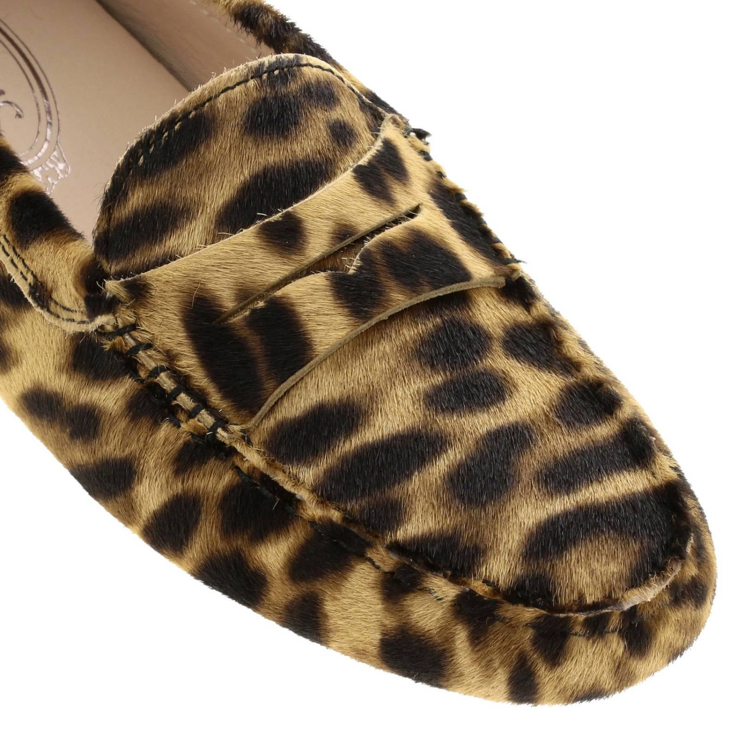 Tod's loafers in calfhair multicolor 4