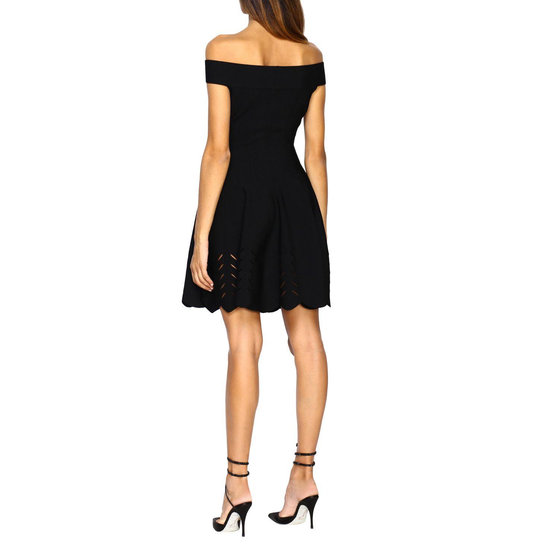 Dress Alexander Mcqueen: Dress women Alexander Mcqueen black 2