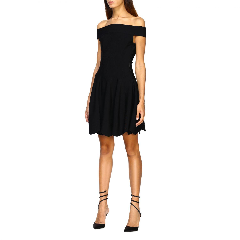 Dress Alexander Mcqueen: Dress women Alexander Mcqueen black 3