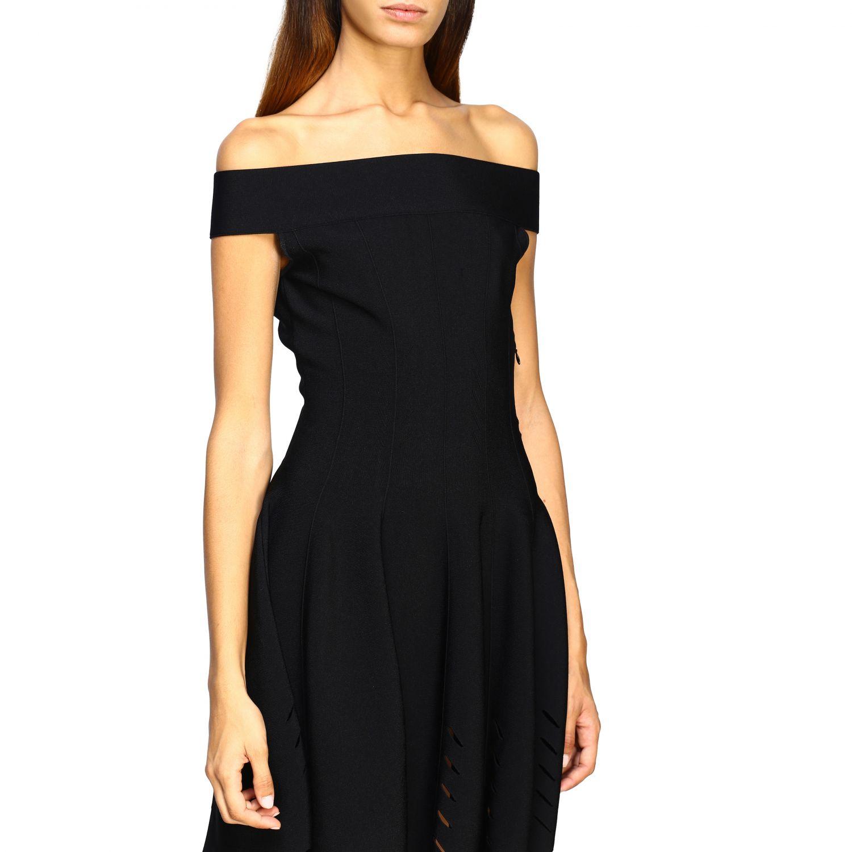 Dress Alexander Mcqueen: Dress women Alexander Mcqueen black 4