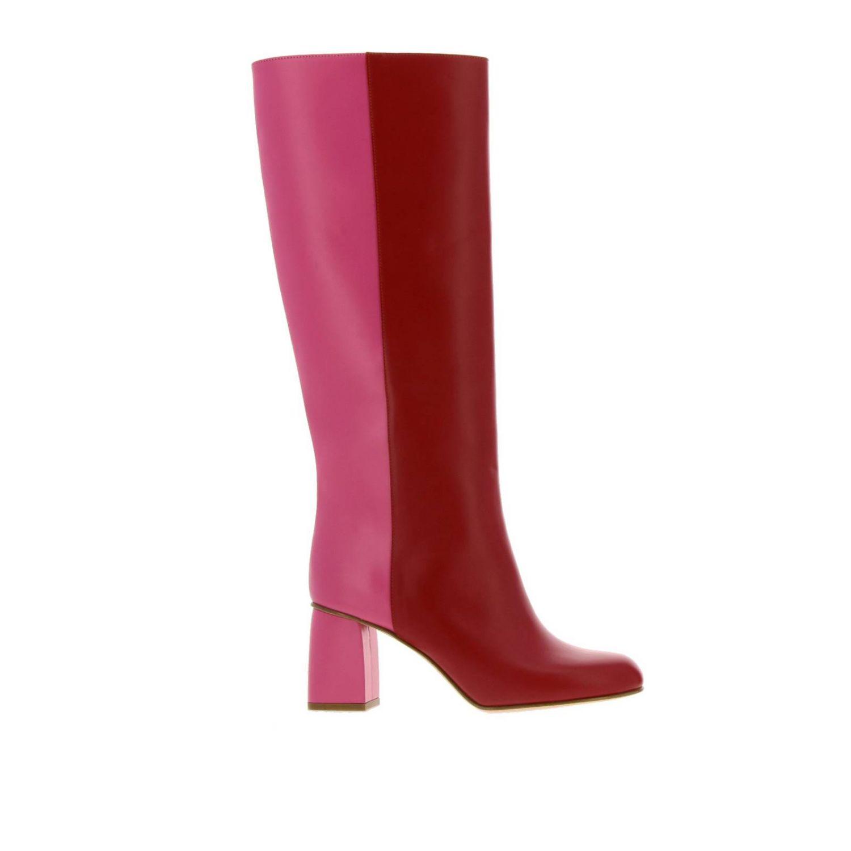 Stiefel damen Red(v) amarant 1