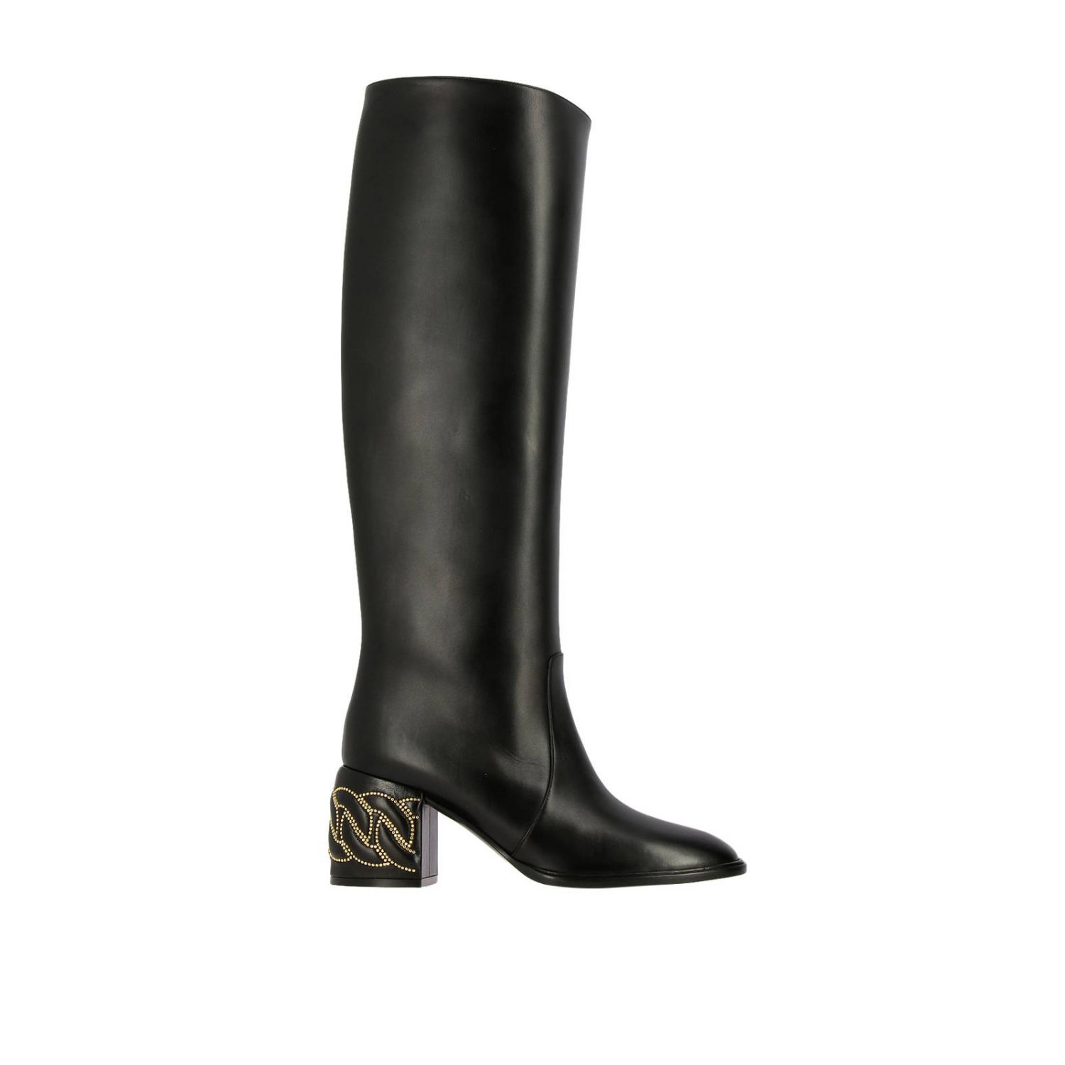Boots women Casadei black 1