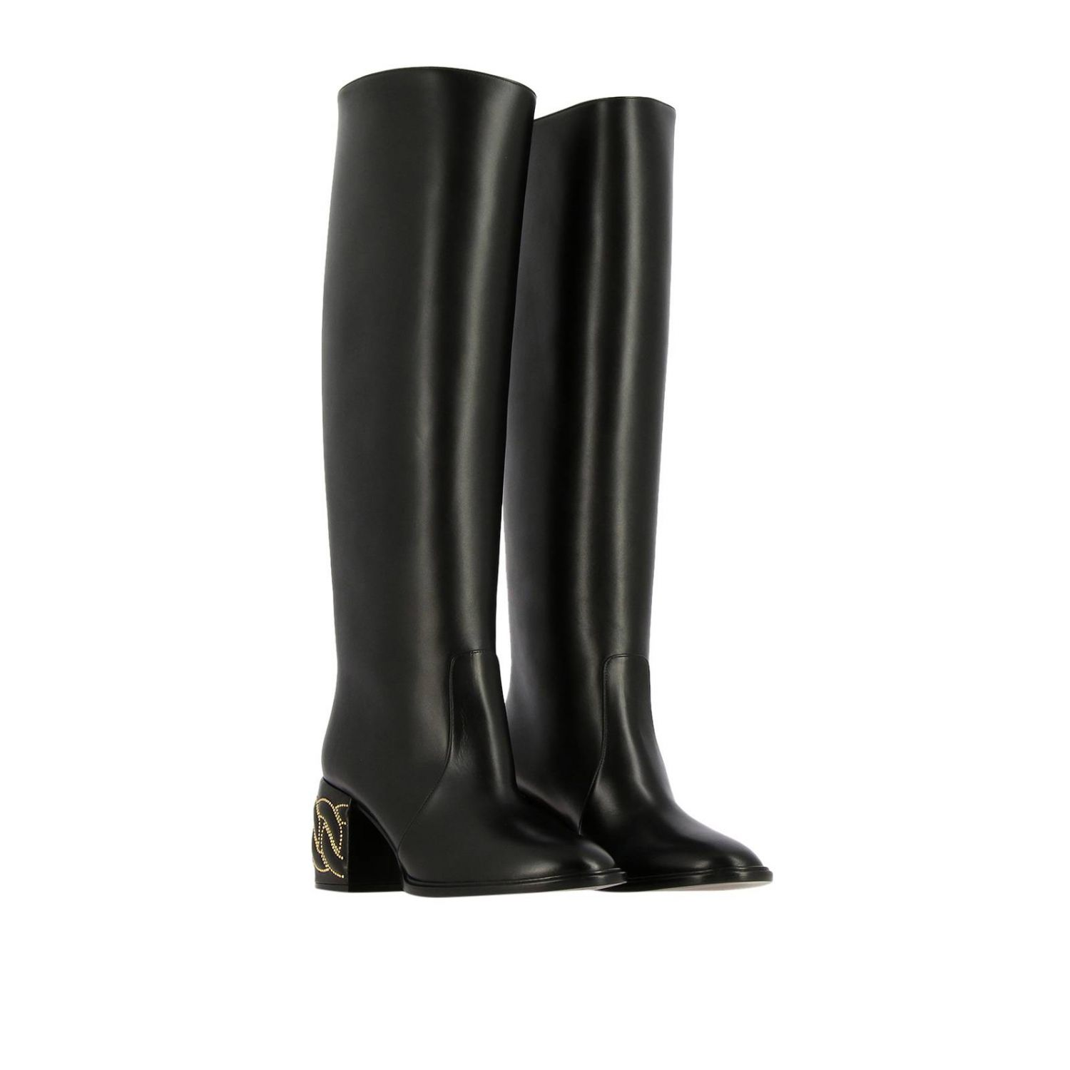 Boots women Casadei black 2