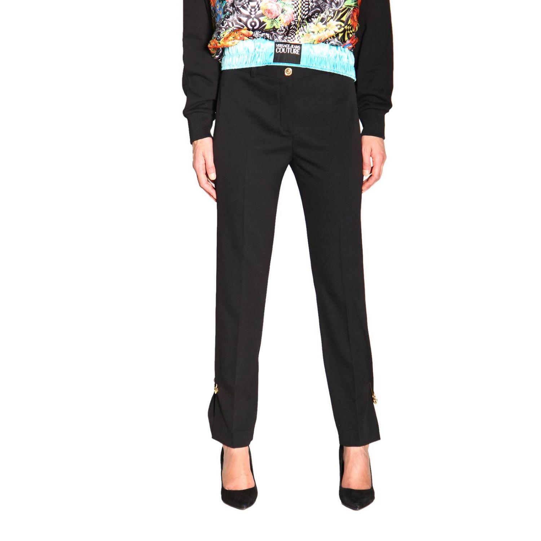 Pantalon femme Versace noir 1