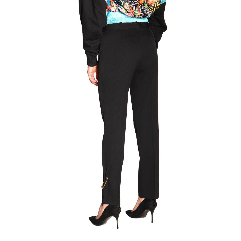 Pantalon femme Versace noir 3