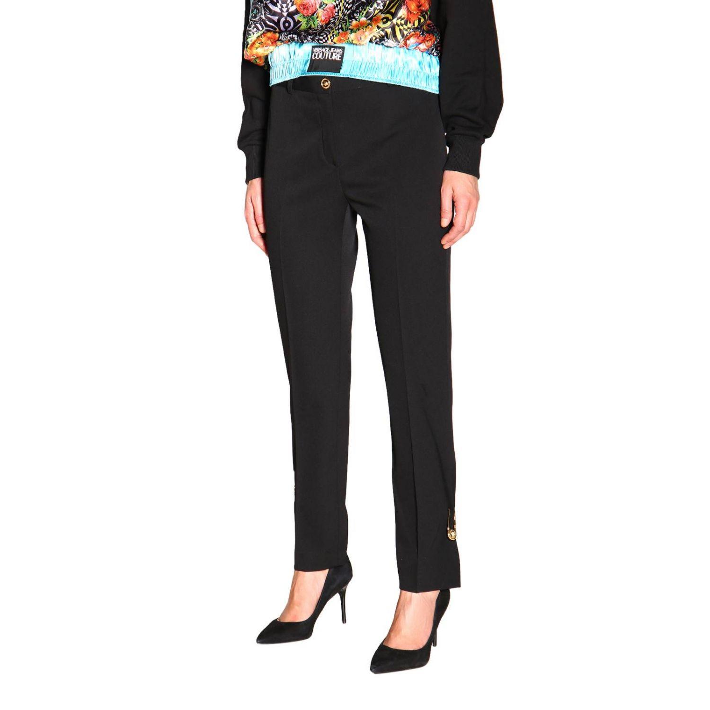 Pantalon femme Versace noir 4