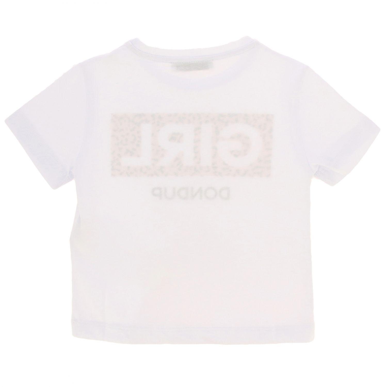 T-shirt kids Dondup white 2