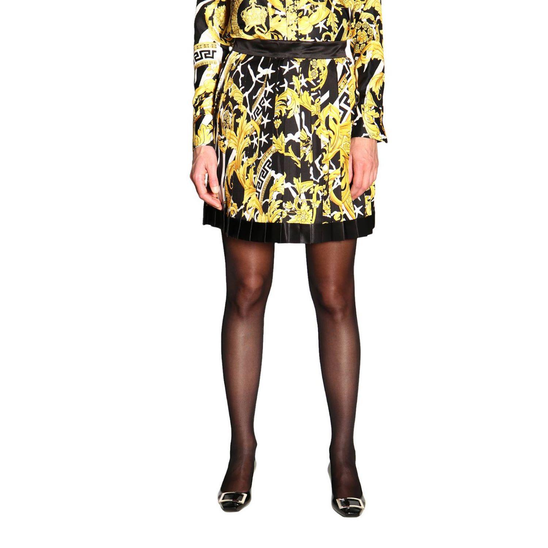 Skirt women Versace black 1
