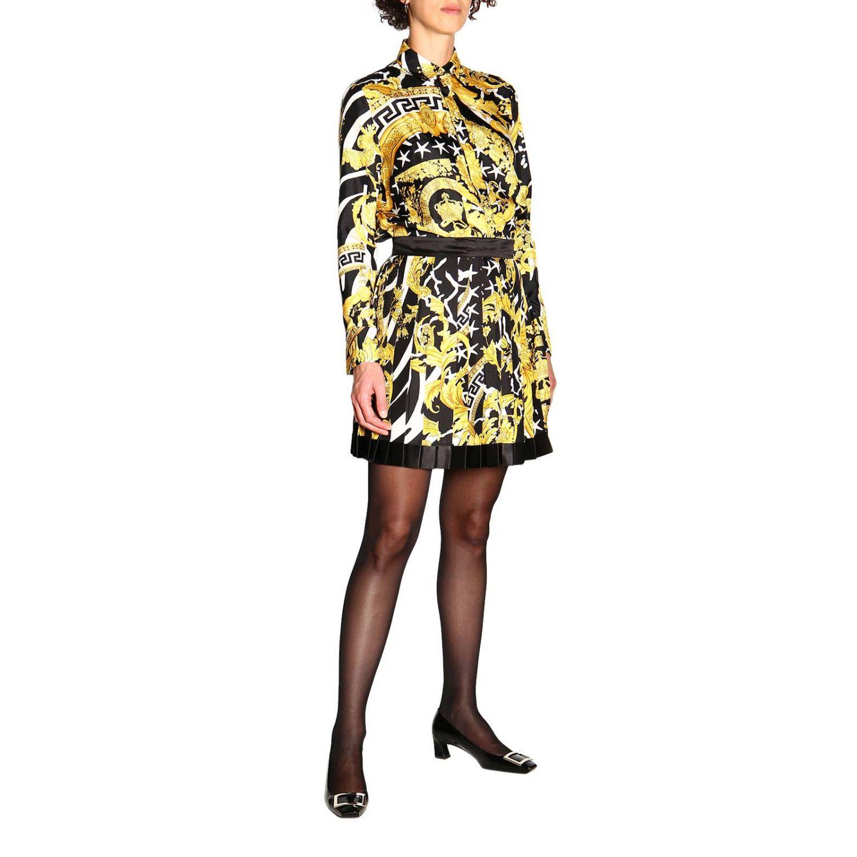 Skirt women Versace black 2
