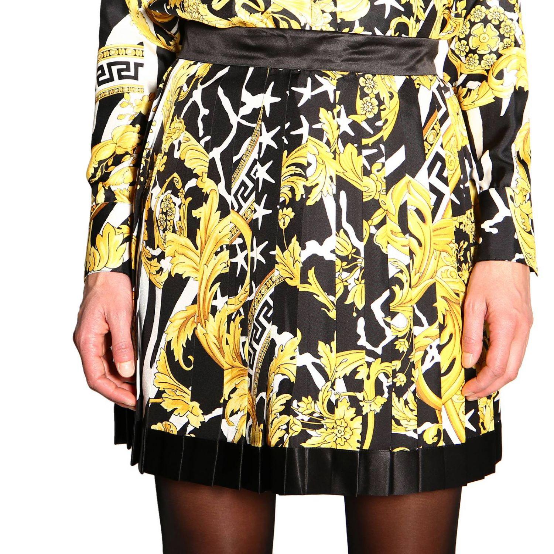 Skirt women Versace black 5