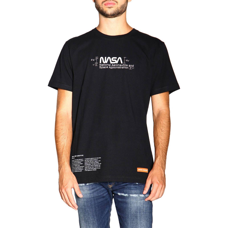 Heron Preston 印花短袖T恤 黑色 1