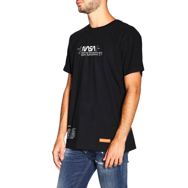 Heron Preston 印花短袖T恤 黑色 4