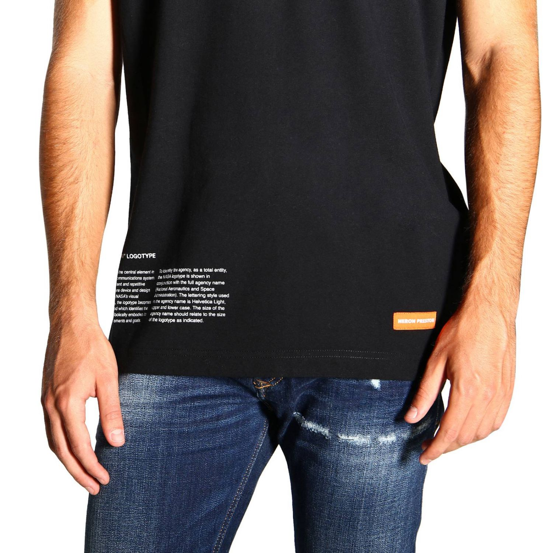 Heron Preston 印花短袖T恤 黑色 5