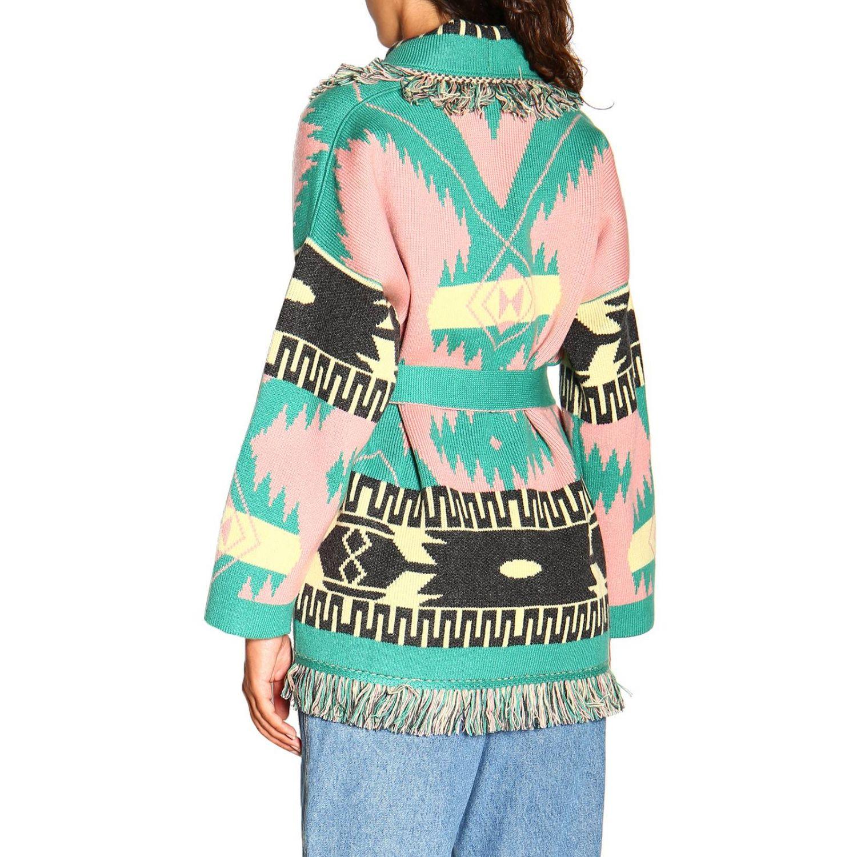 Cardigan Alanui: Sweater women Alanui pink 3