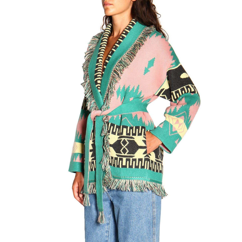 Cardigan Alanui: Sweater women Alanui pink 4