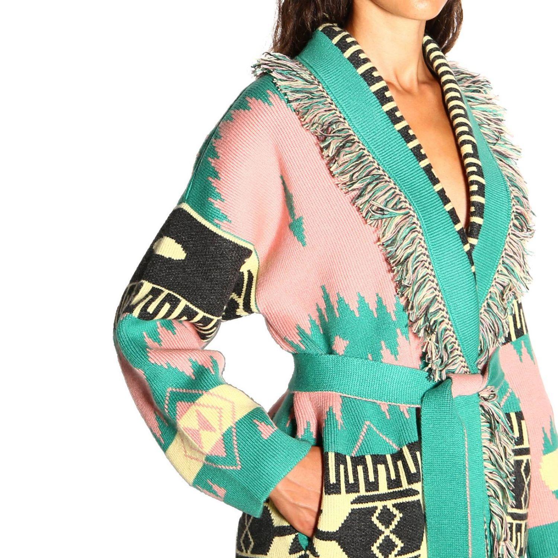 Cardigan Alanui: Sweater women Alanui pink 5