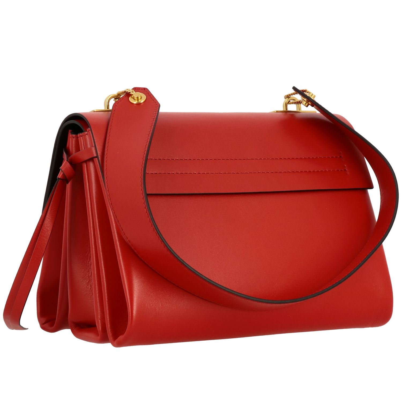 Bolso de hombro mujer Valentino Garavani rojo 3