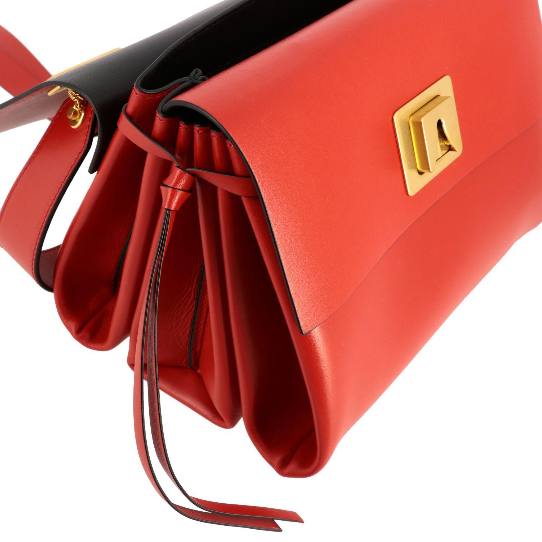 Bolso de hombro mujer Valentino Garavani rojo 4