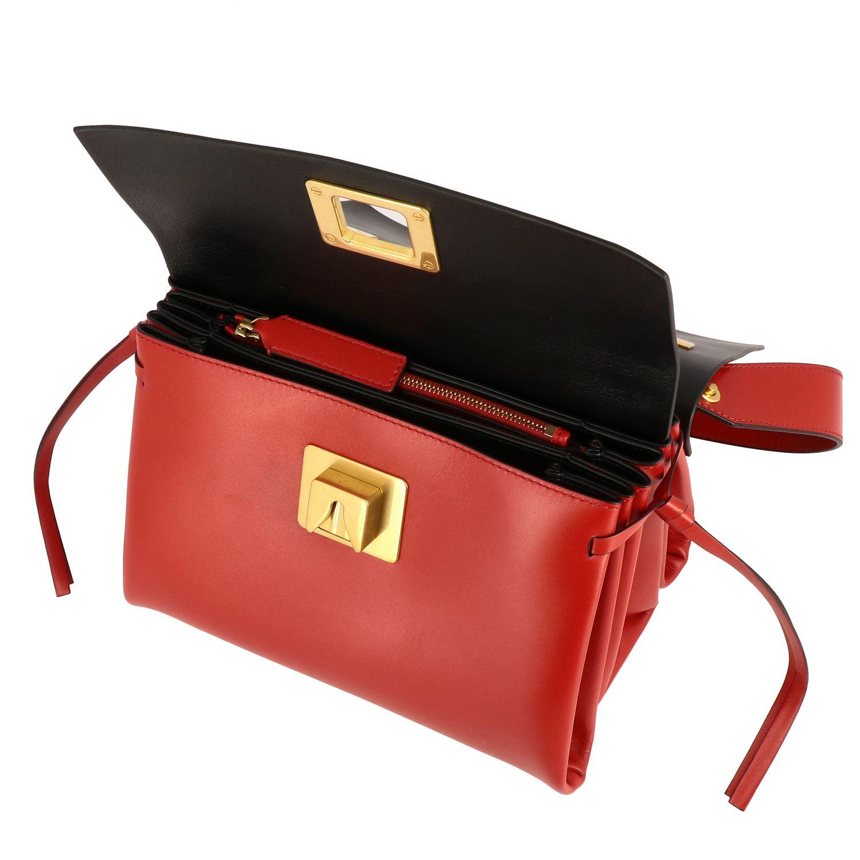 Bolso de hombro mujer Valentino Garavani rojo 5