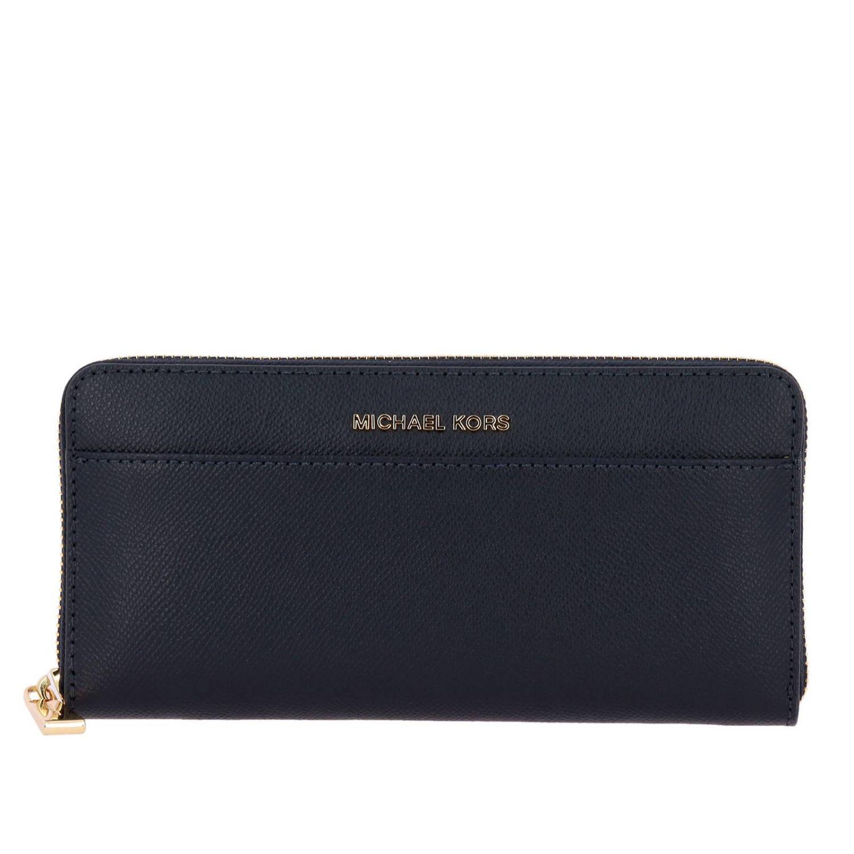 Wallet Michael Michael Kors: Wallet women Michael Michael Kors blue 1