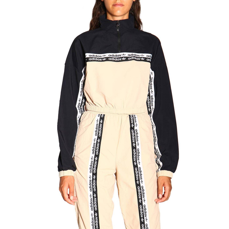 Felpa donna Adidas Originals nero 1