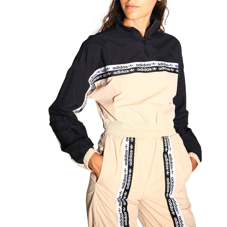 Felpa donna Adidas Originals nero 5