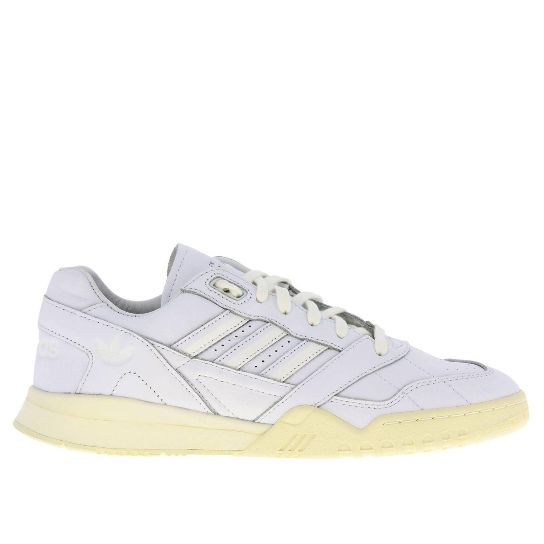 运动鞋 Adidas Originals: Adidas Originals 真皮运动鞋 白色 1