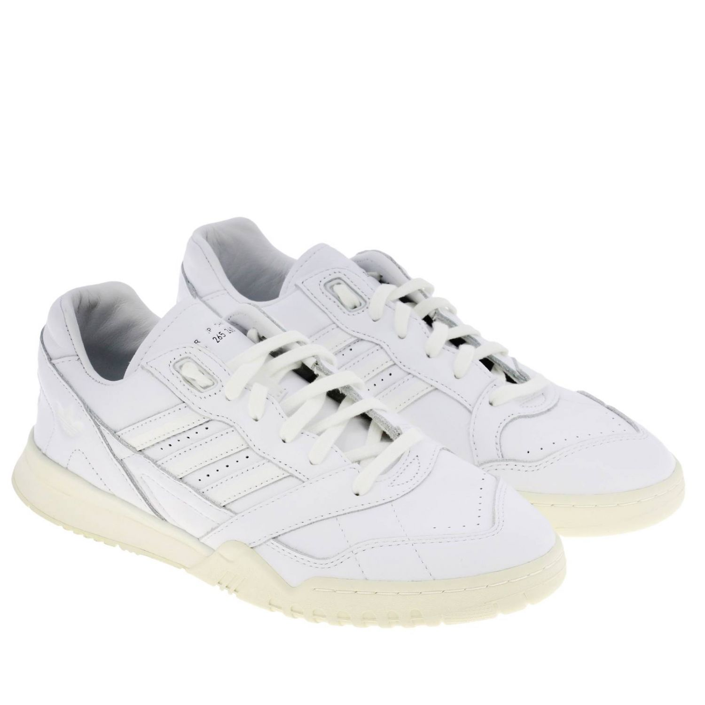 运动鞋 Adidas Originals: Adidas Originals 真皮运动鞋 白色 2
